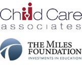 Child Care Associates and The Miles Foundation Logos